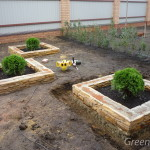 Сад для спокойствия и уединения