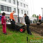 Ландшафт, как создание благоприятной среды для работы и жизни