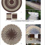 Обустройство плиткой в саду